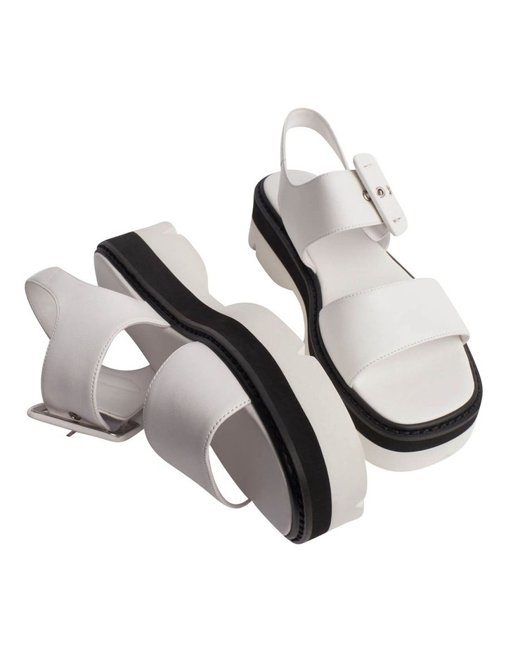 Jett White Sheep Nappa Sandals image 3