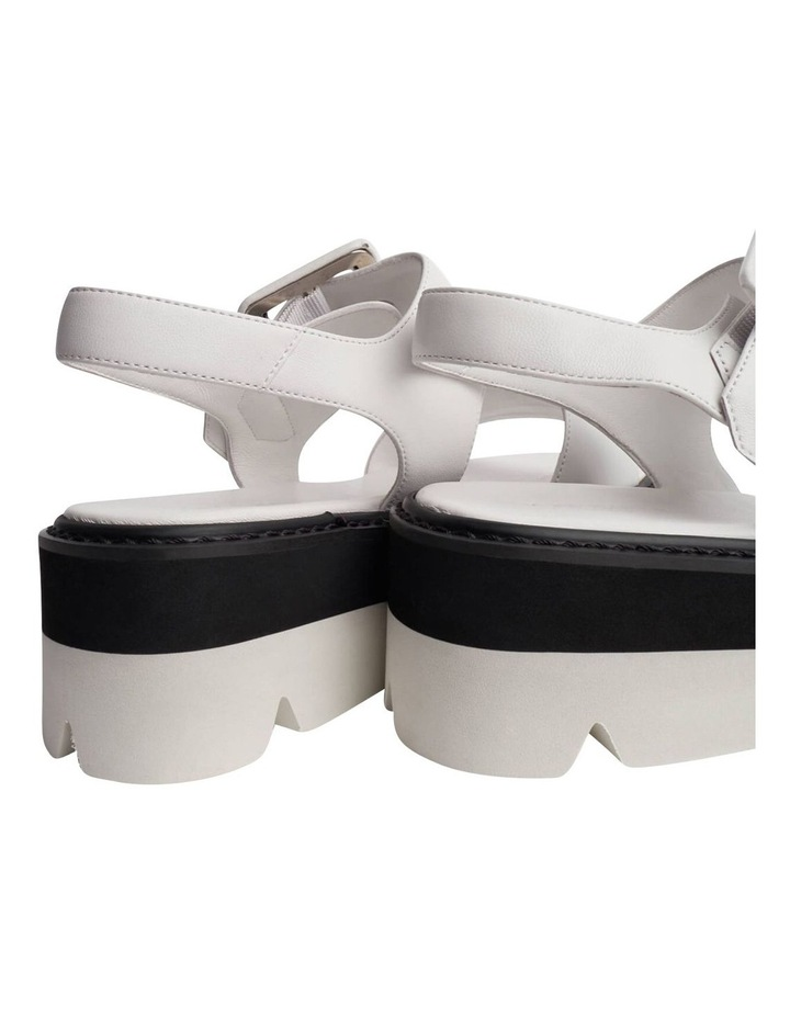 Jett White Sheep Nappa Sandals image 5