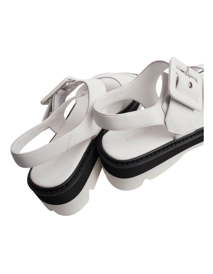 Jett White Sheep Nappa Sandals image 6
