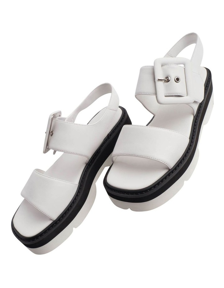 Jett White Sheep Nappa Sandals image 7