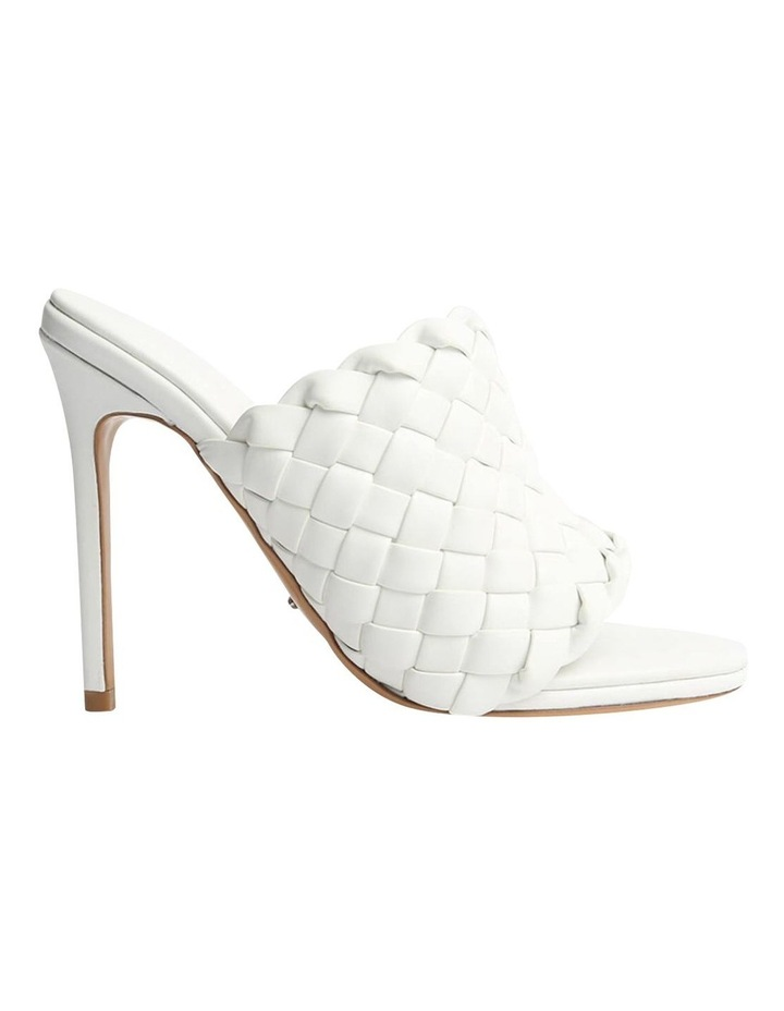 Kaylee White Sheep Nappa Heels image 1