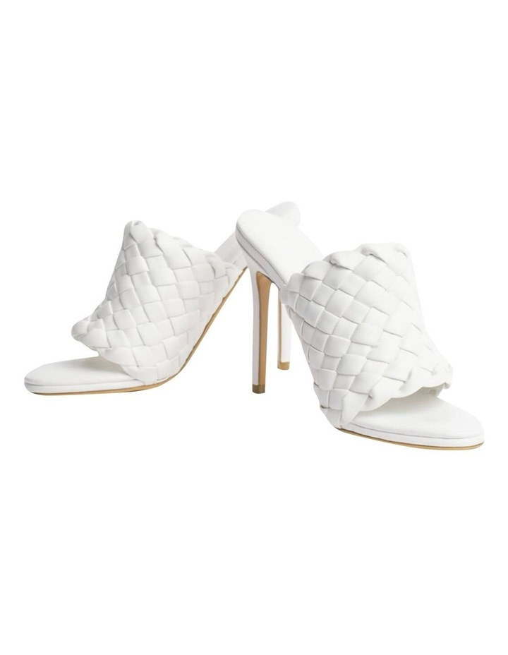 Kaylee White Sheep Nappa Heels image 2