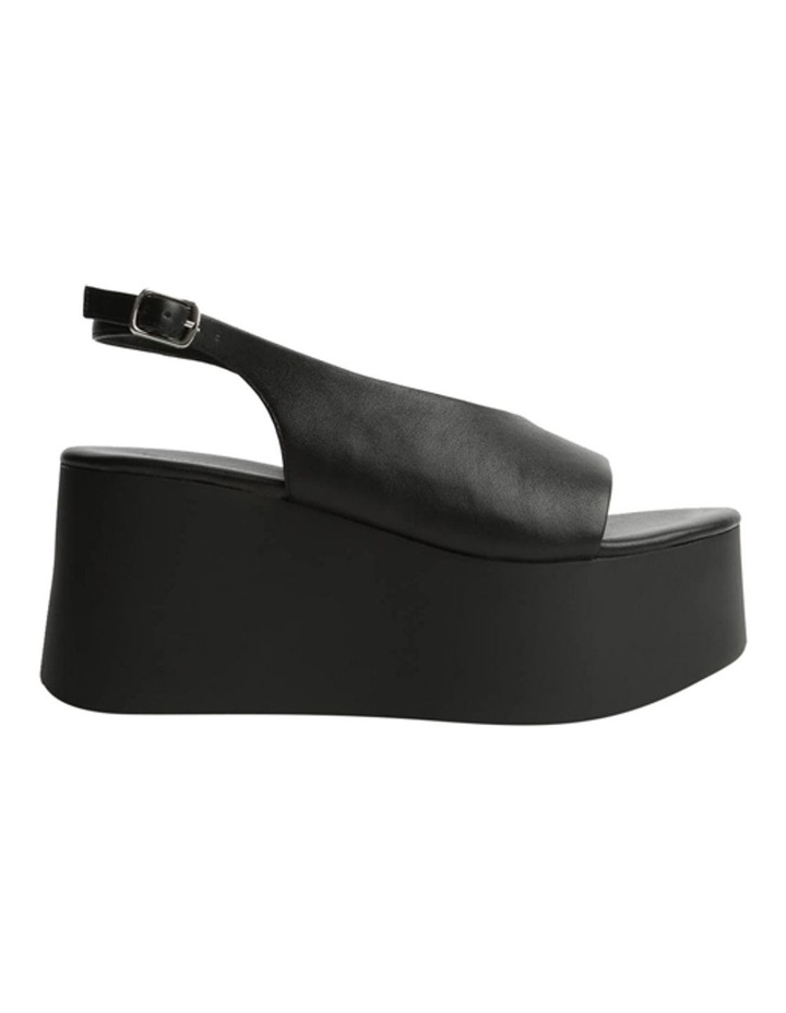 Talya Black Sheep Nappa Wedges image 1