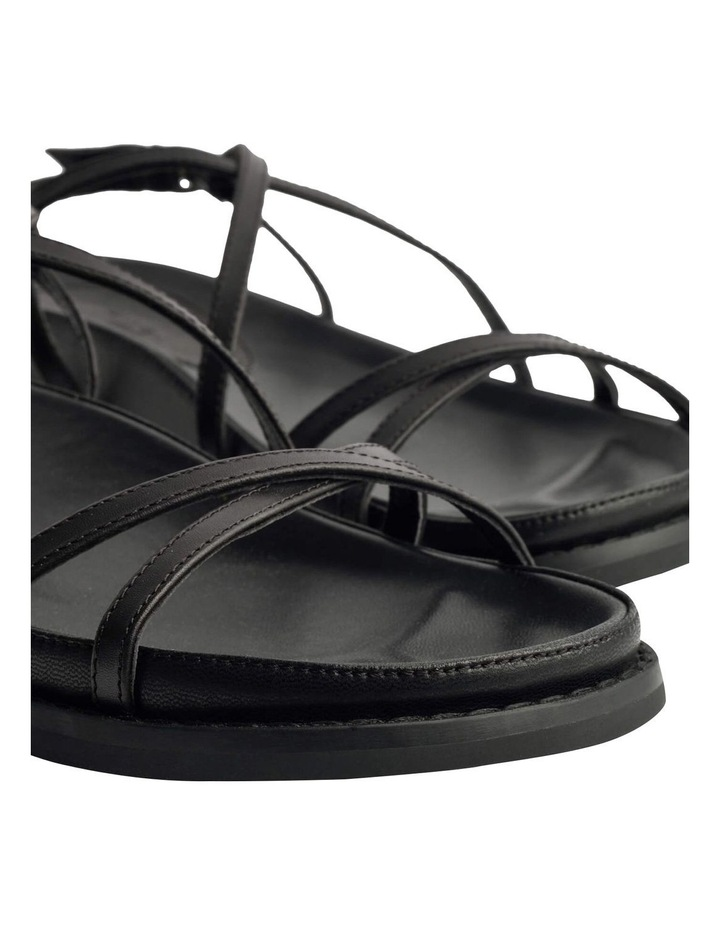 Hazel Black Como Sandals image 3
