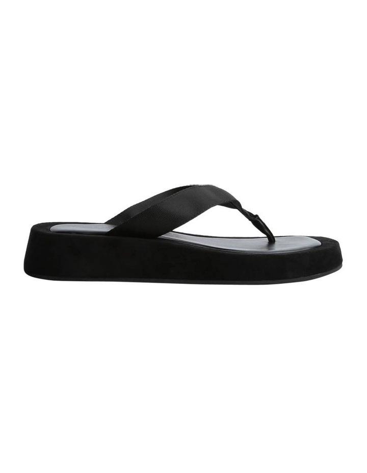 Ives Black Nylon Sandals image 1