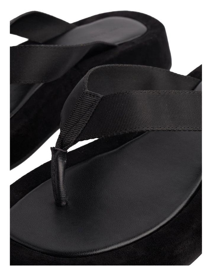 Ives Black Nylon Sandals image 4