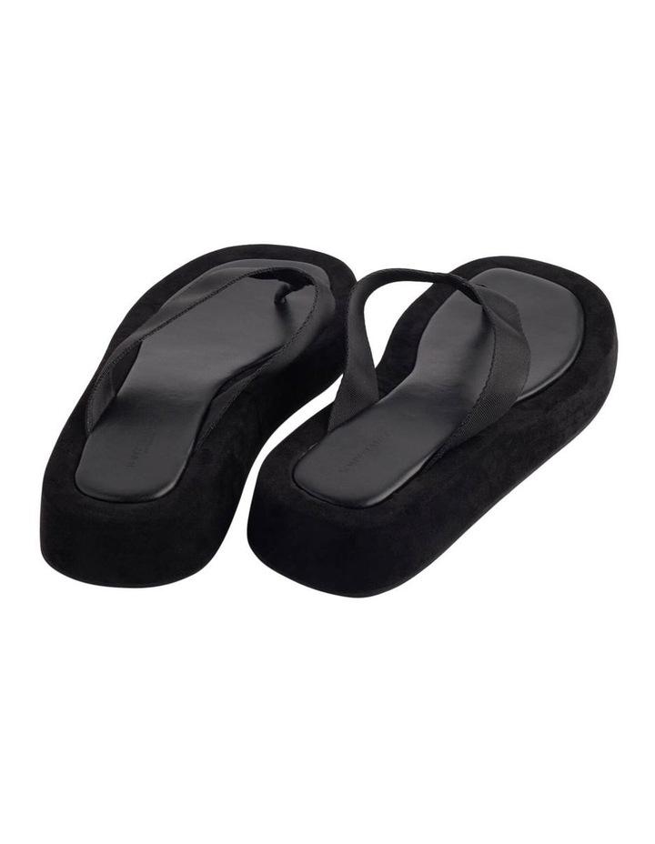 Ives Black Nylon Sandals image 5