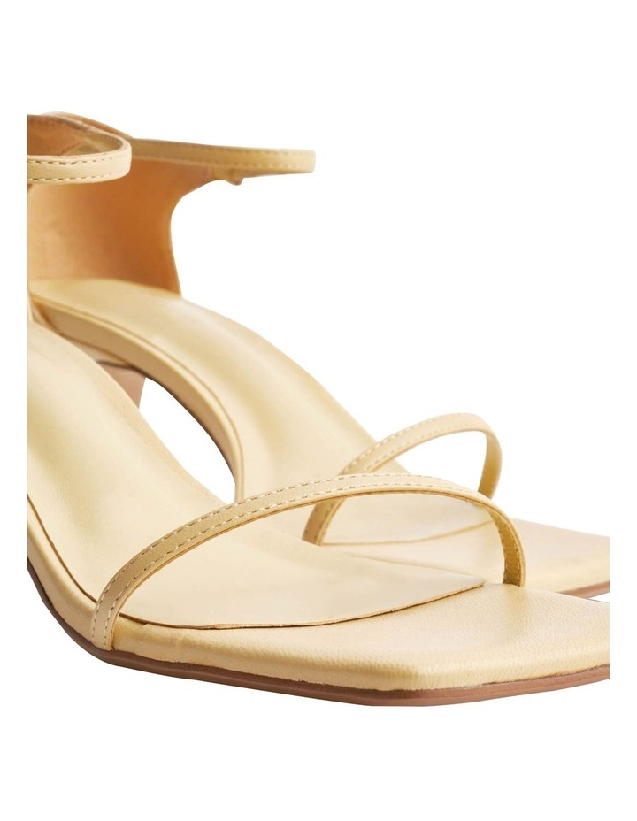 Annabelle Butter Nappa Heels image 3
