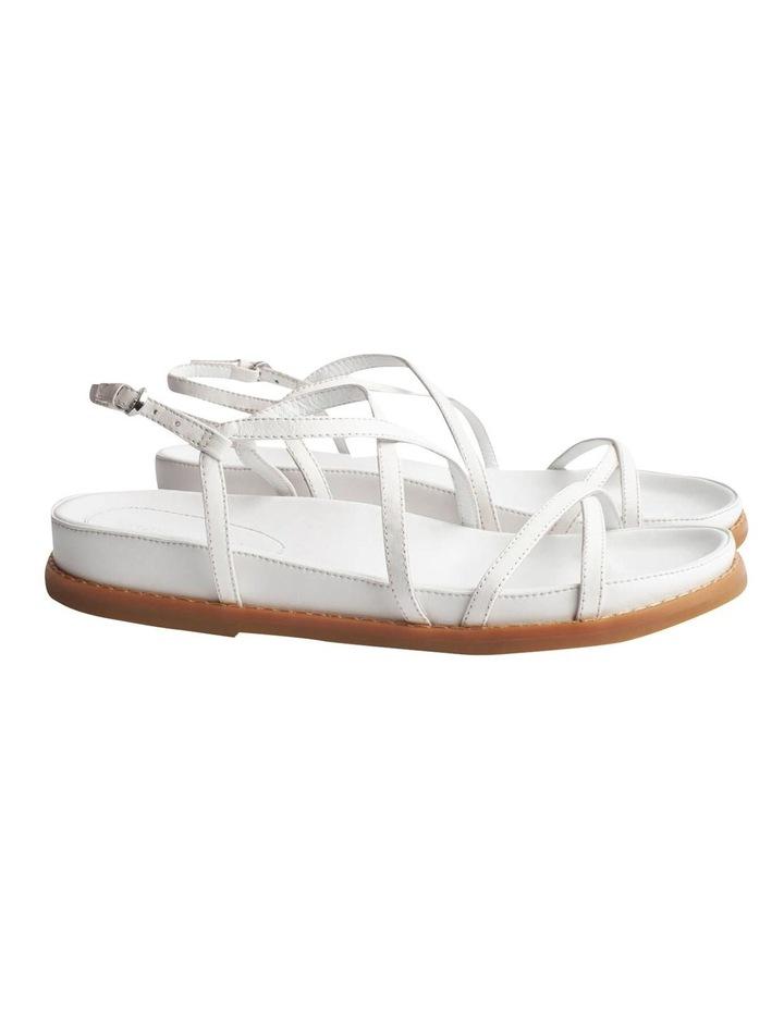 Hazel Milk Capretto Sandals image 1