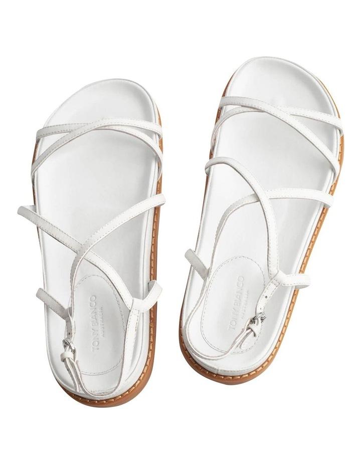 Hazel Milk Capretto Sandals image 2