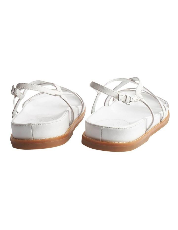 Hazel Milk Capretto Sandals image 3