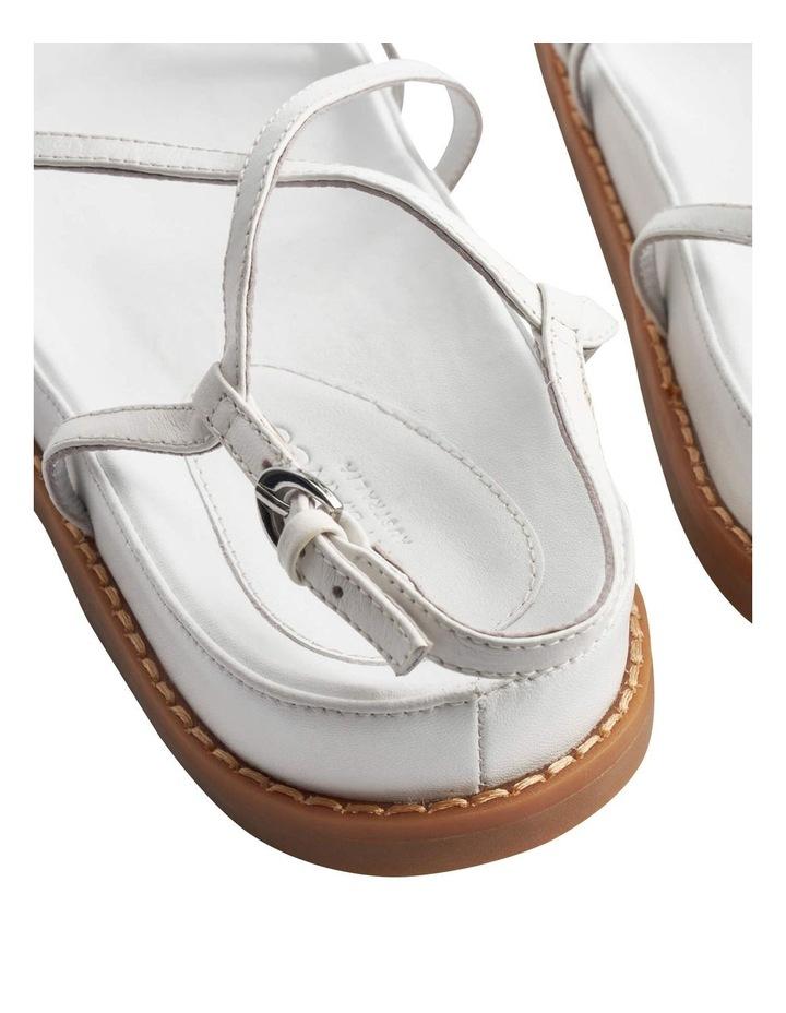 Hazel Milk Capretto Sandals image 4