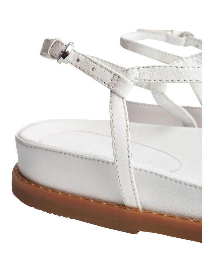 Hazel Milk Capretto Sandals image 5