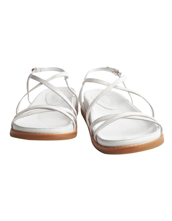 Hazel Milk Capretto Sandals image 6