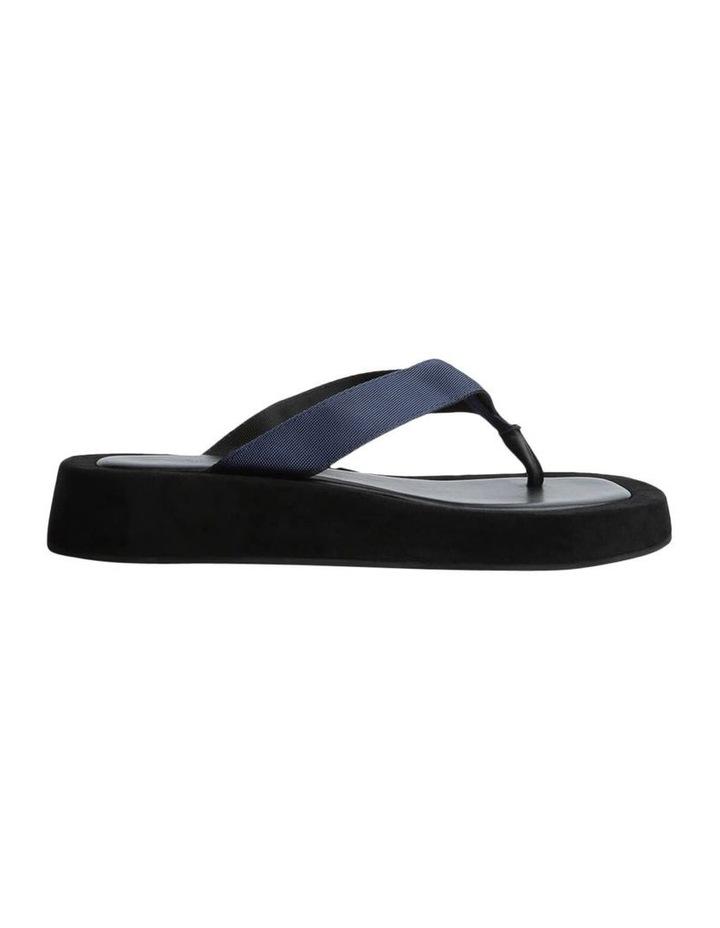 Ives Navy Nylon Sandals image 1