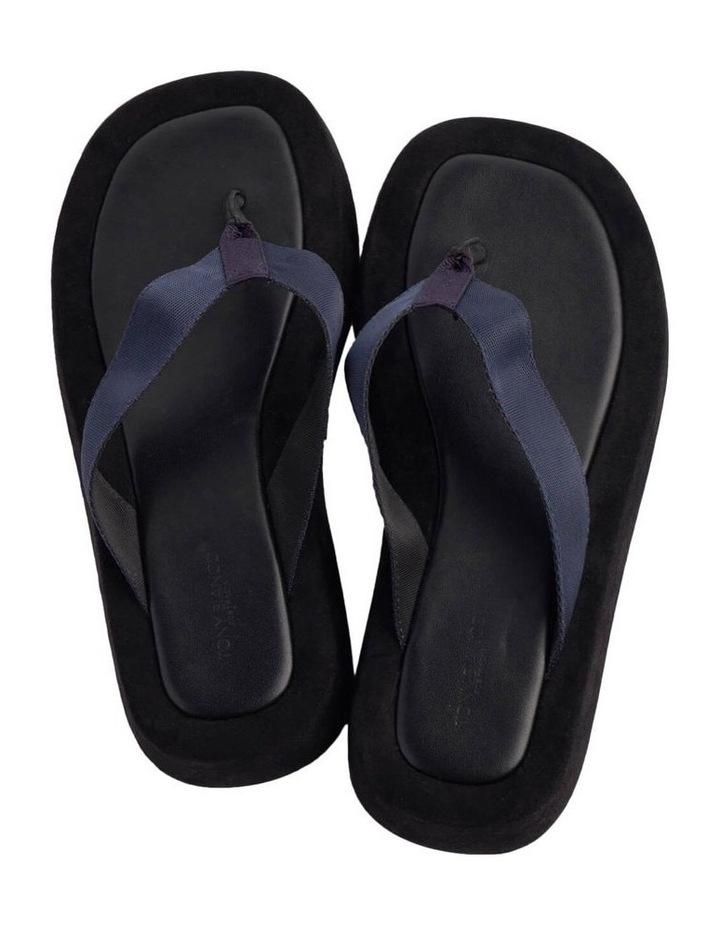 Ives Navy Nylon Sandals image 2