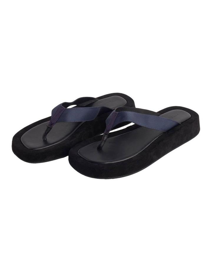 Ives Navy Nylon Sandals image 4