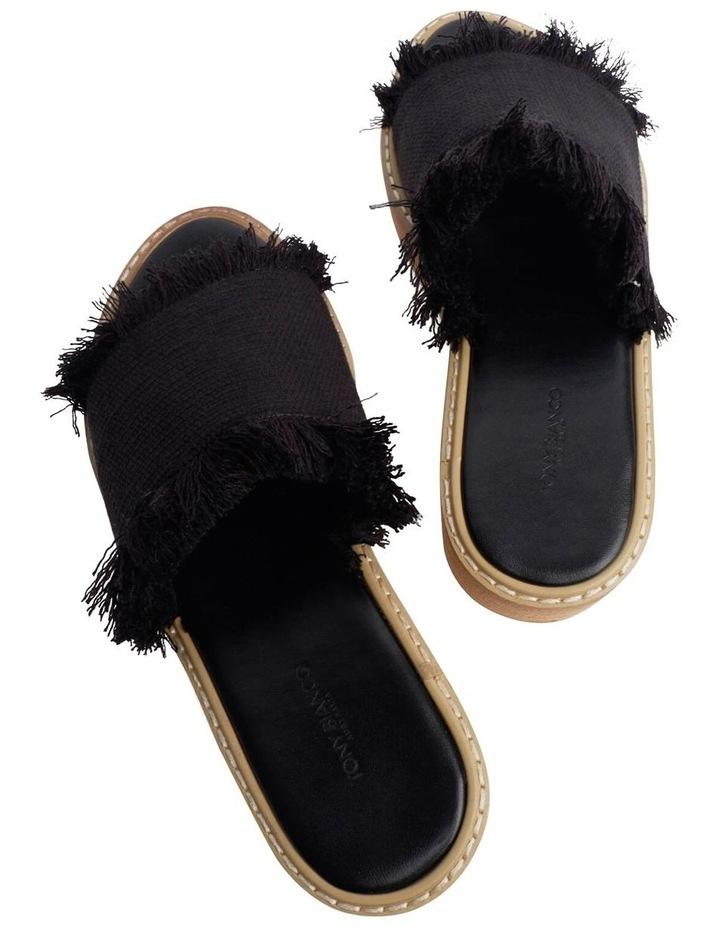 Ebony Black Sandals image 3