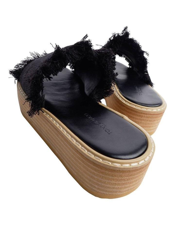 Ebony Black Sandals image 4