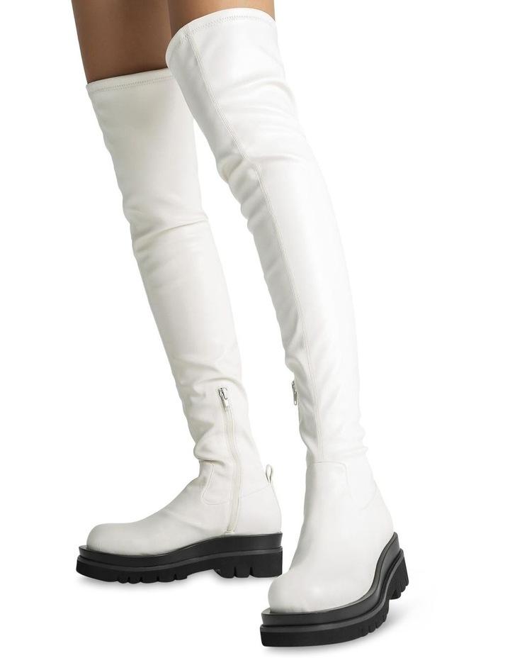 Bellair Cream Venezia Long Boots image 3