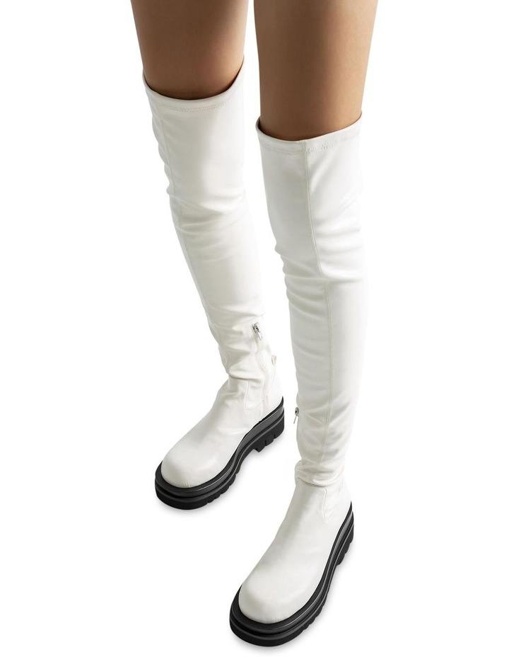 Bellair Cream Venezia Long Boots image 4