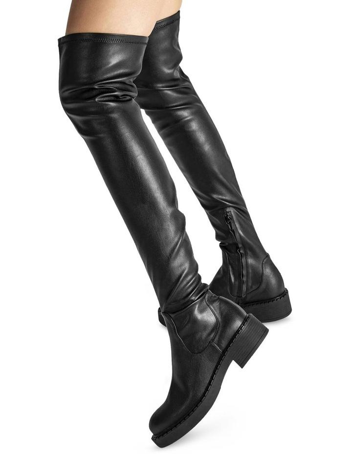 Cascade Black Venezia Long Boots image 2