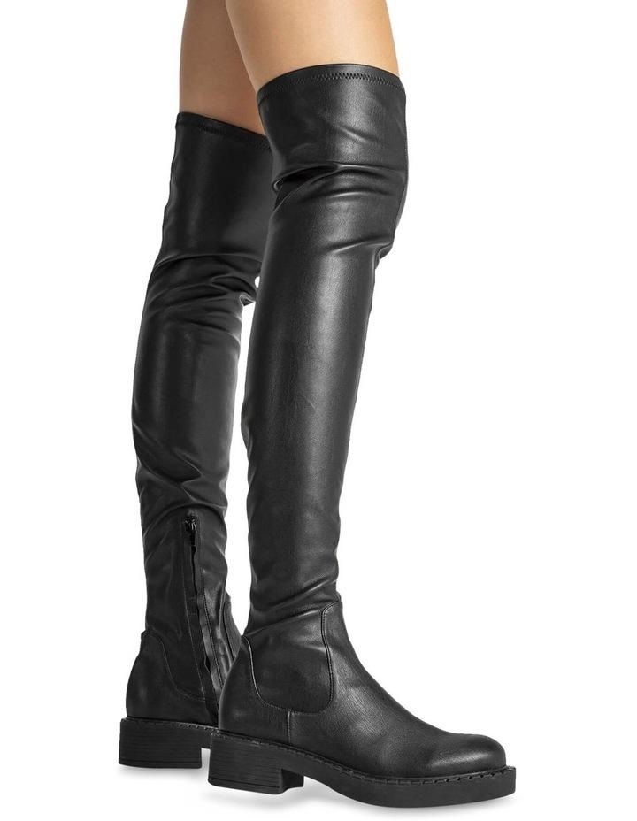 Cascade Black Venezia Long Boots image 3