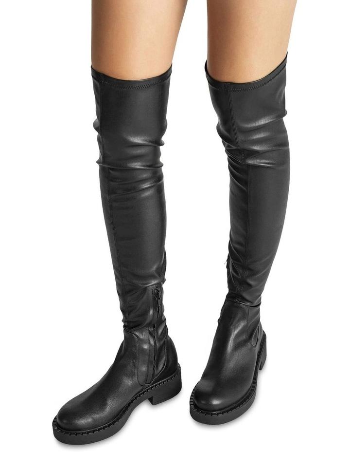 Cascade Black Venezia Long Boots image 4