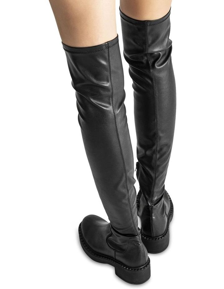 Cascade Black Venezia Long Boots image 5