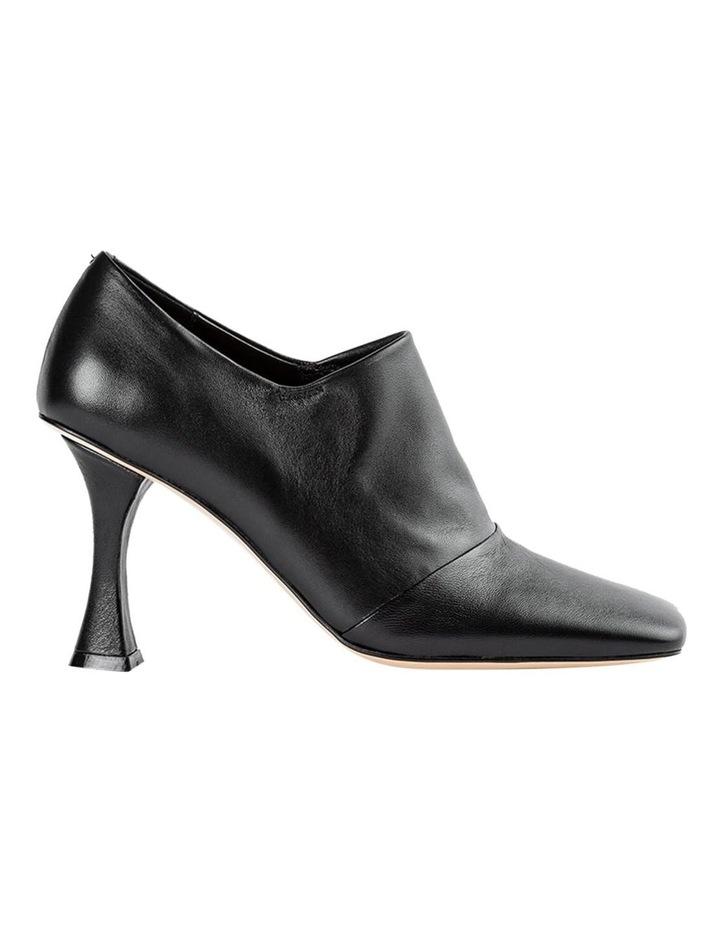 Charlotte Black Nappa Heels image 1