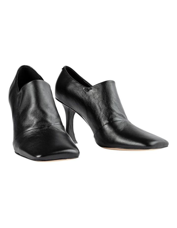 Charlotte Black Nappa Heels image 2