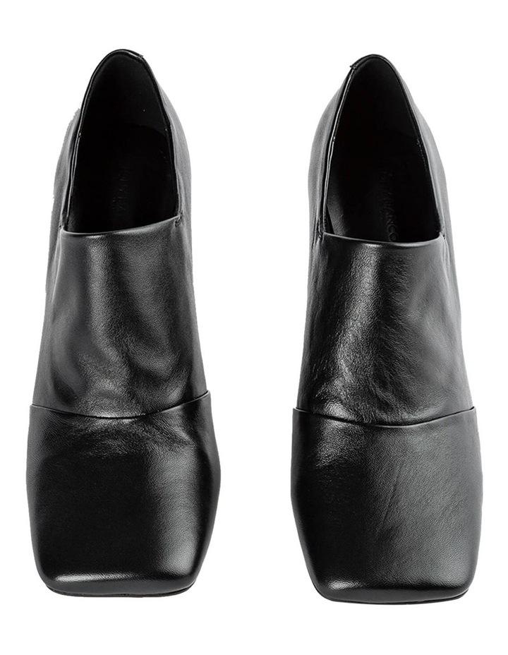 Charlotte Black Nappa Heels image 5