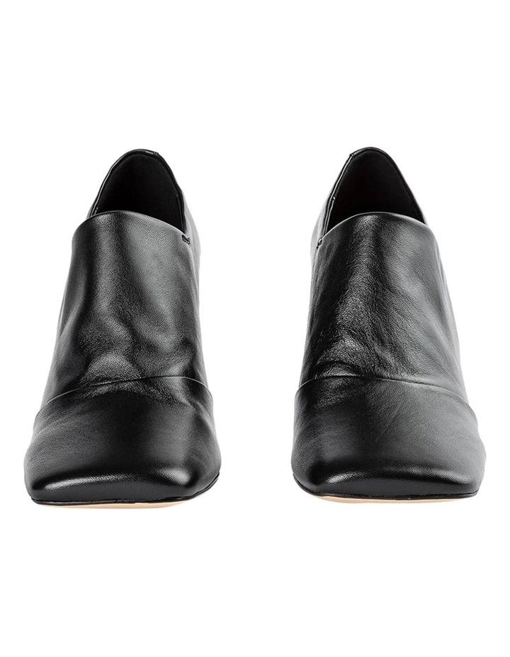 Charlotte Black Nappa Heels image 6