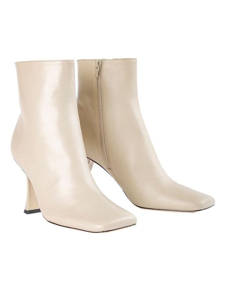 Cuomo Vanilla Capretto Ankle Boots image 2