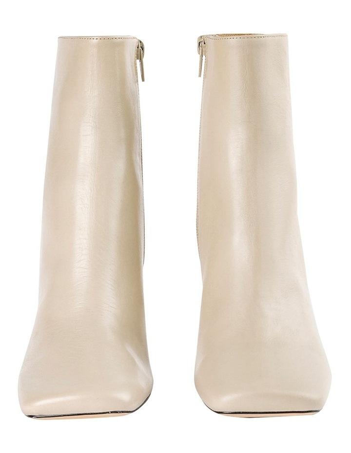 Cuomo Vanilla Capretto Ankle Boots image 3
