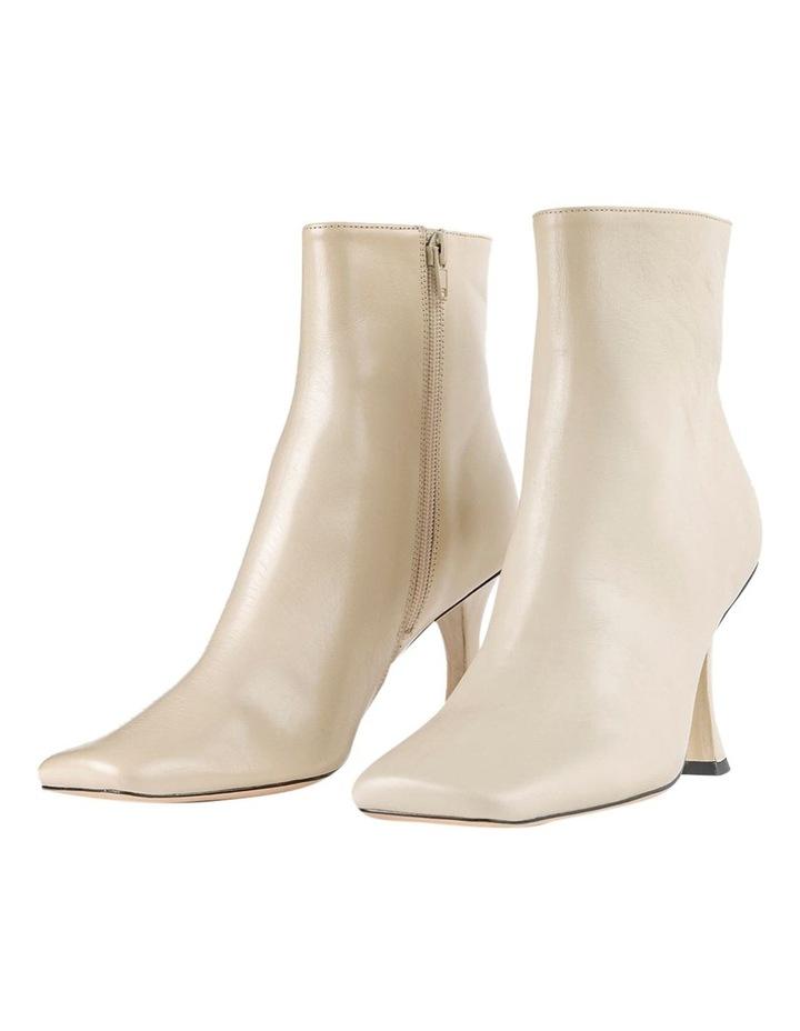 Cuomo Vanilla Capretto Ankle Boots image 4