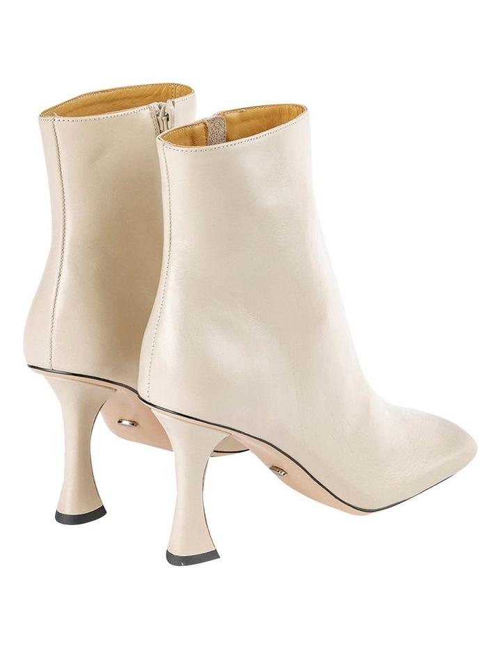 Cuomo Vanilla Capretto Ankle Boots image 5