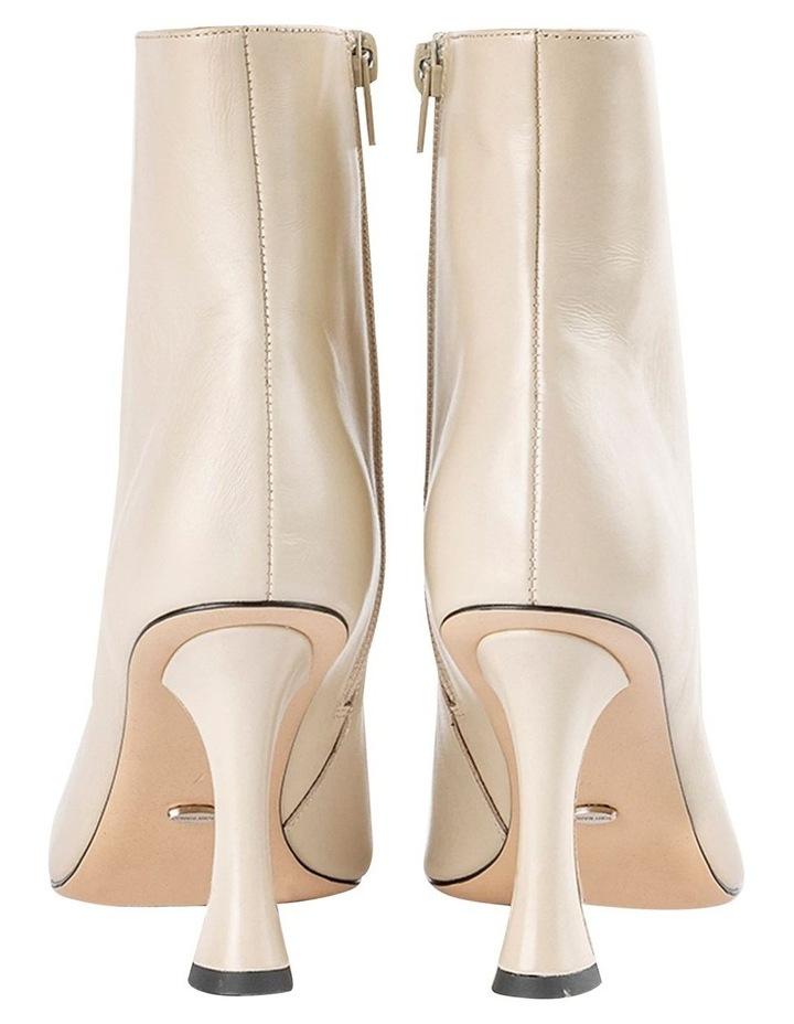 Cuomo Vanilla Capretto Ankle Boots image 6