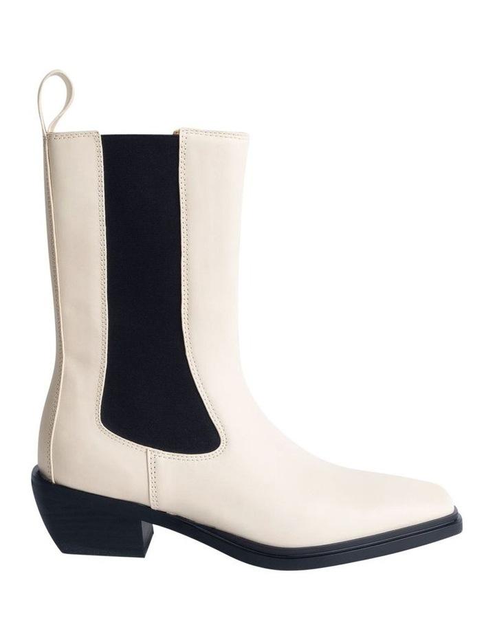 Dua Dove Capretto Ankle Boots image 1