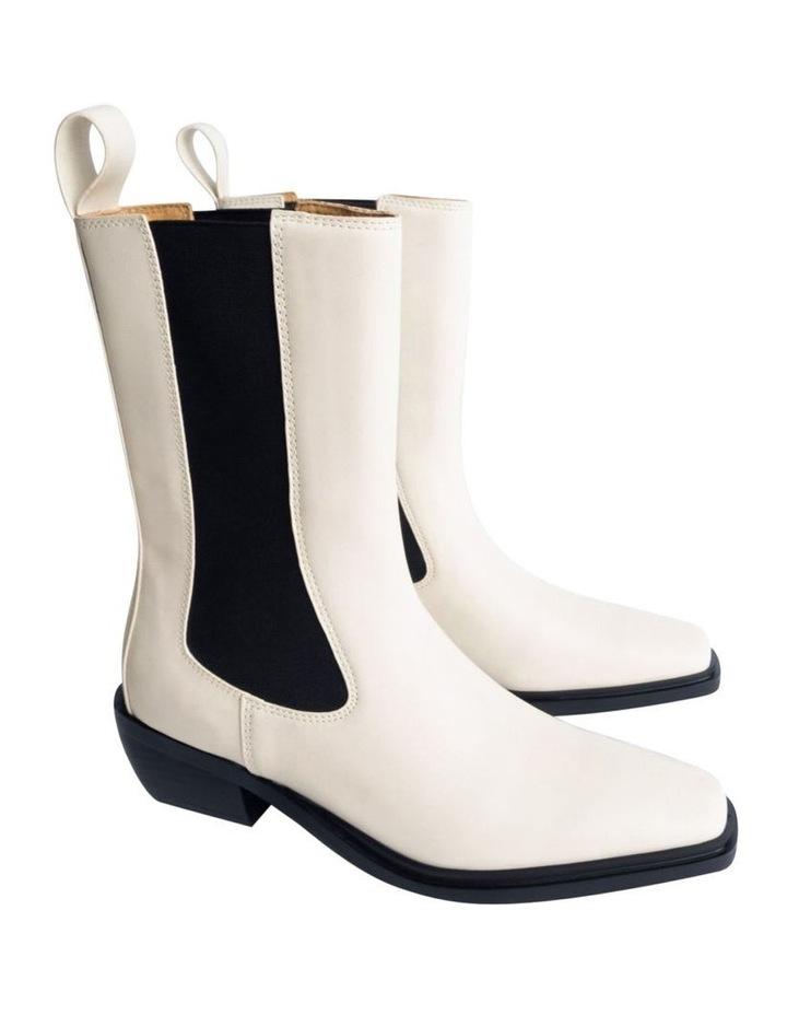 Dua Dove Capretto Ankle Boots image 2