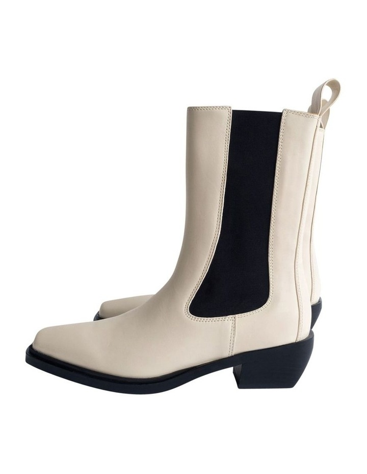 Dua Dove Capretto Ankle Boots image 5