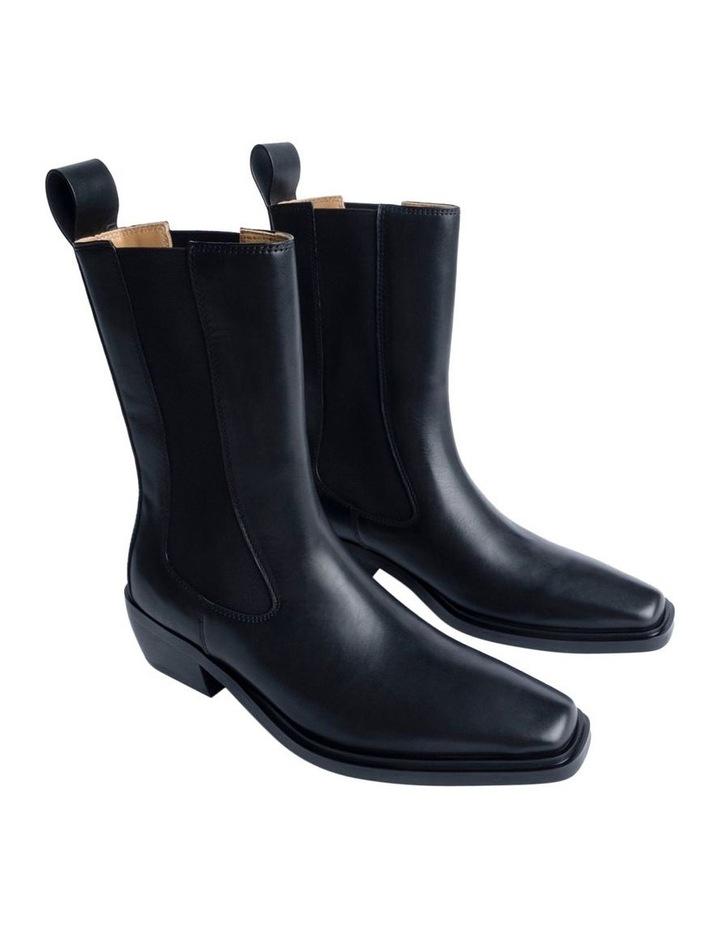Dua Black Como Ankle Boots image 2