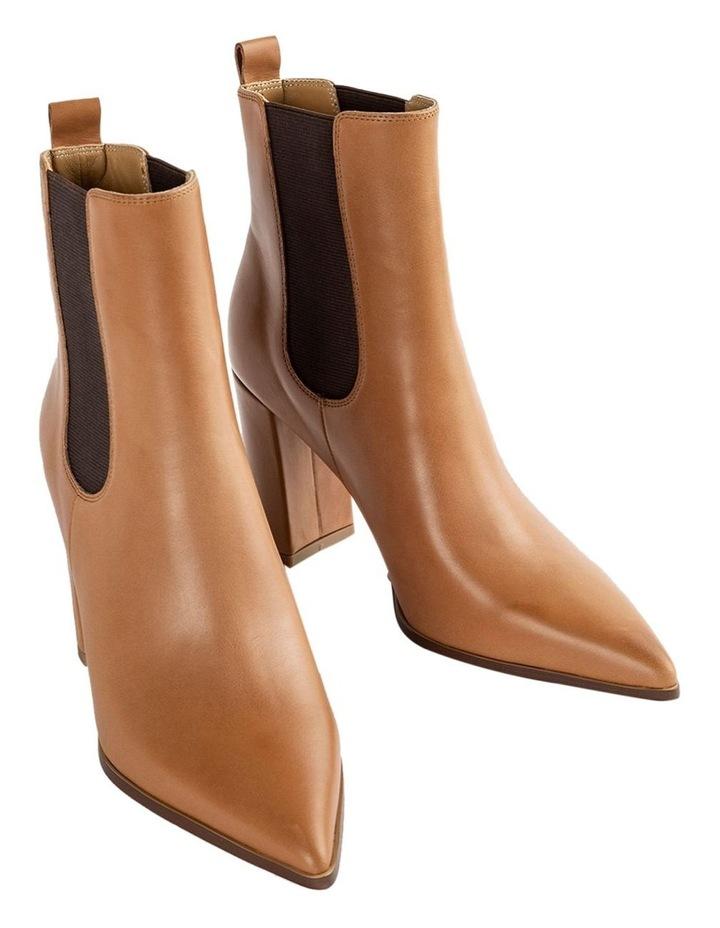 Easton Tan Como Ankle Boots image 2