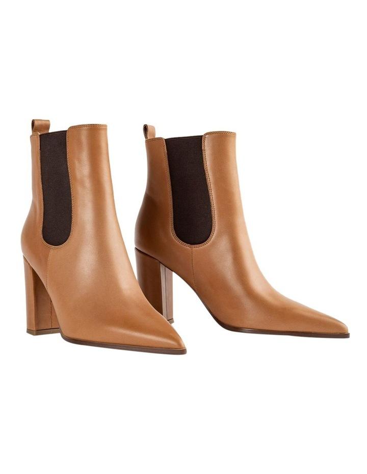 Easton Tan Como Ankle Boots image 5