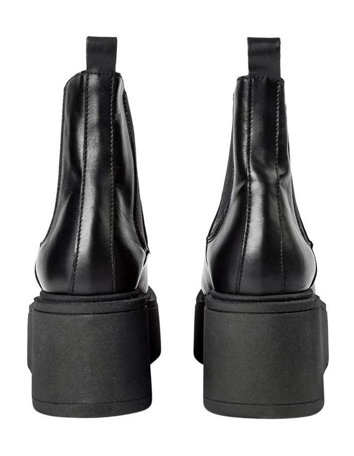 Fonze Black Wedge Boots image 6