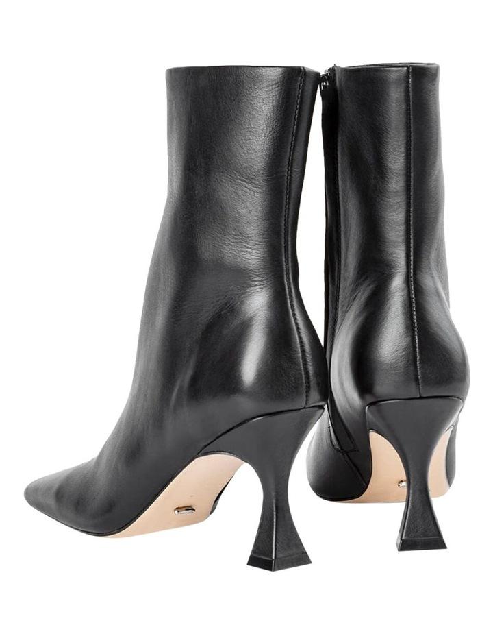 Foxxe Black Capretto Ankle Boots image 5