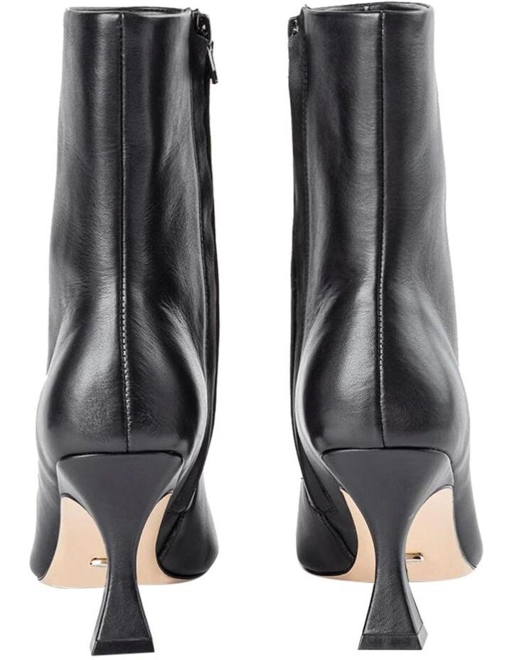 Foxxe Black Capretto Ankle Boots image 6