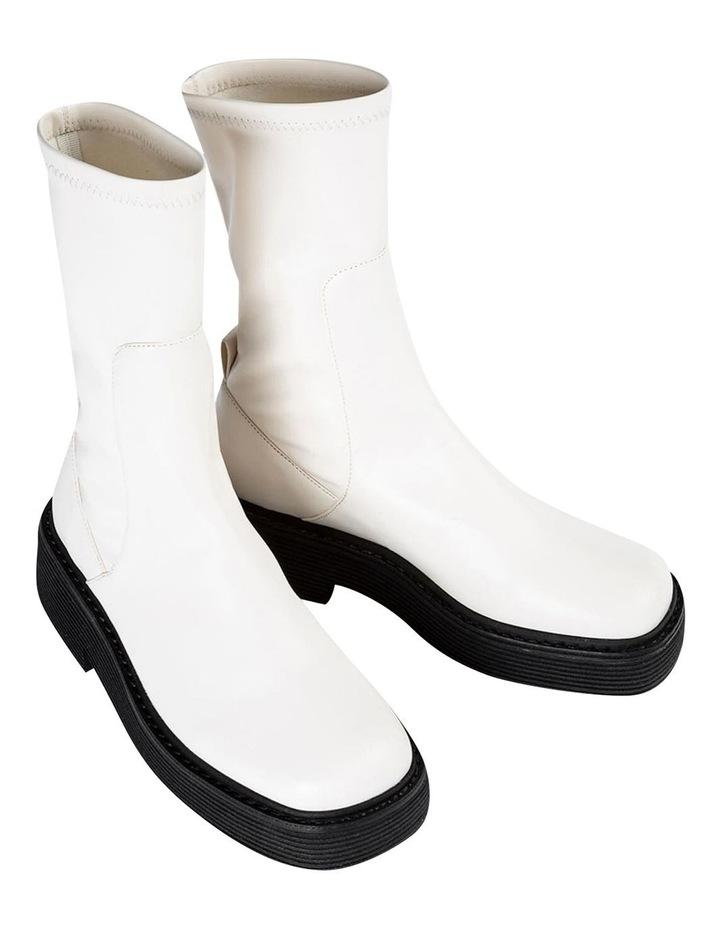 Glacier Cream Venezia Calf Boots image 2