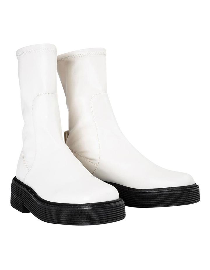 Glacier Cream Venezia Calf Boots image 3
