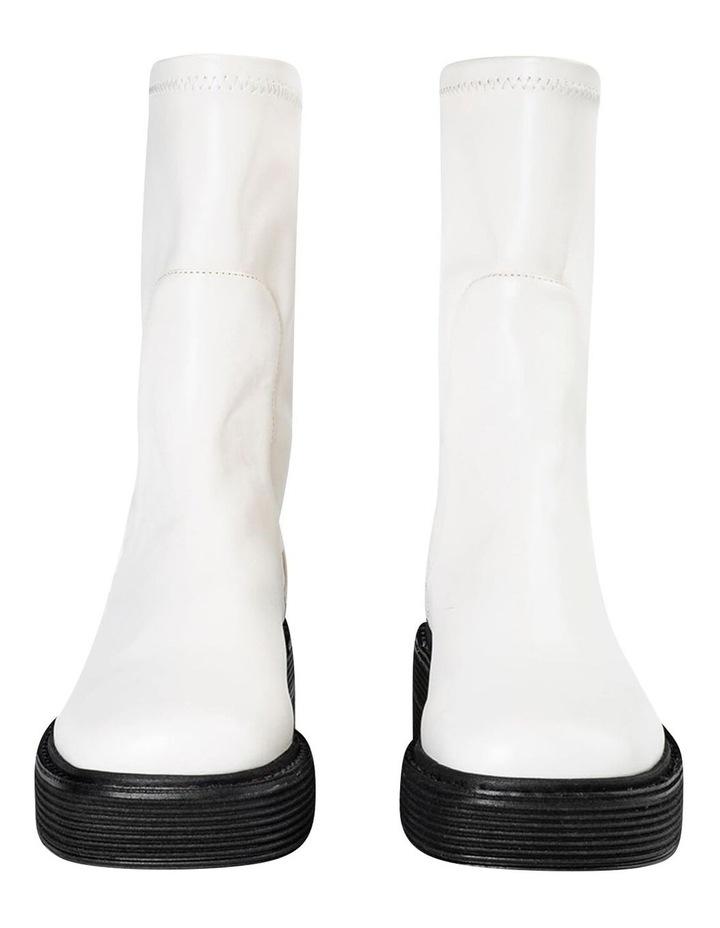 Glacier Cream Venezia Calf Boots image 4